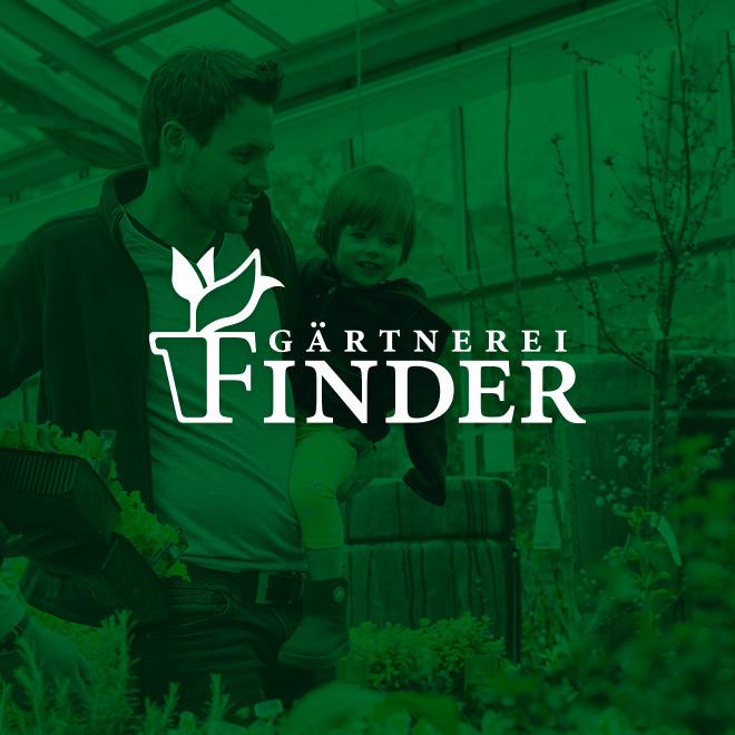 Erscheinungsbild Gärtnerei Finder