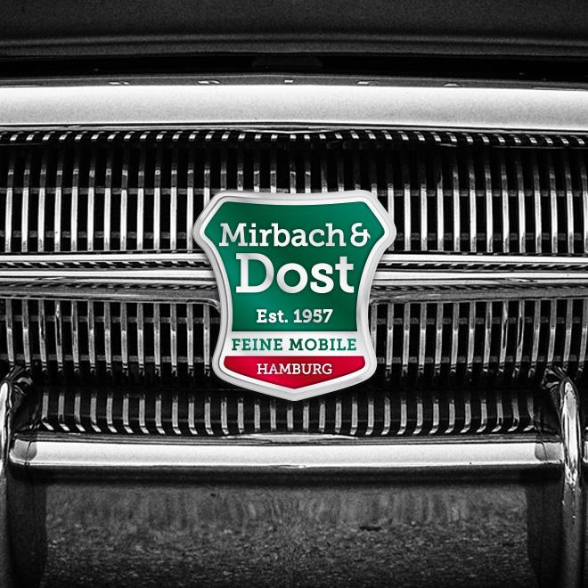 Visitenkarten Mirbach & Dost