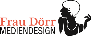 Logo Frau Dörr MEDIENDESIGN Hamburg